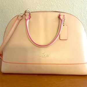 Coach large domed satchel
